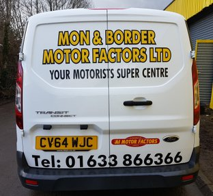 Kustom Signs Cwmbran Vehicle Lettering Specialists Local Businesses Torfaen Vinyl